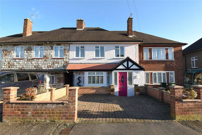 3 Bedrooms Terraced House for sale in Stafford Road, Ruislip, Middlesex, HA4