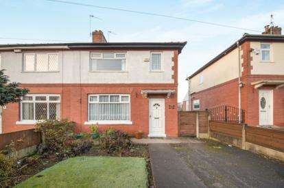 3 Bedrooms Semi Detached House for sale in Poplar Road, Worsley, Manchester, Greater Manchester