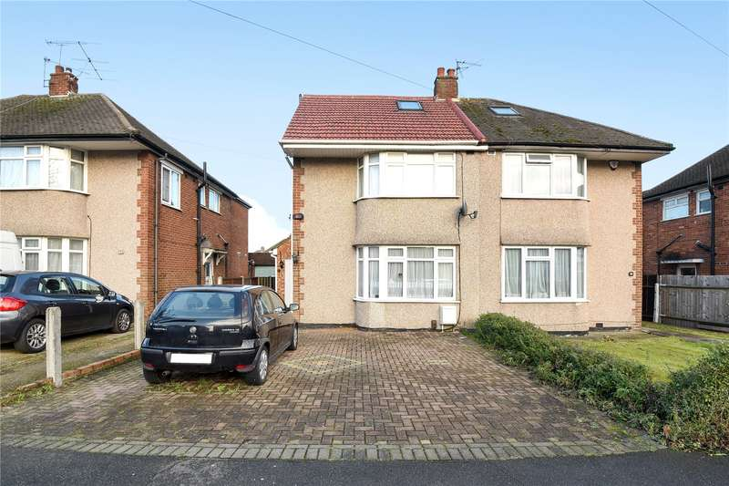 5 Bedrooms Semi Detached House for sale in Warley Avenue, Hayes, Middlesex, UB4