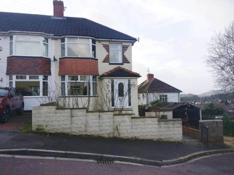 3 Bedrooms Semi Detached House for sale in Gaer Park Hill, Newport