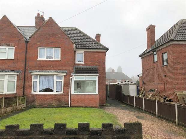 3 Bedrooms Semi Detached House for sale in Willett Road, WEST BROMWICH, West Midlands