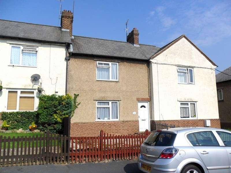 2 Bedrooms Terraced House for sale in Nicholas Road, Irthlingborough, Wellingborough, Northamptonshire. NN9 5QT