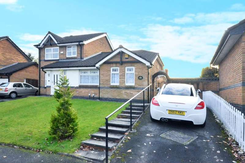 2 Bedrooms Semi Detached Bungalow for sale in Brentwood Drive, Farnworth, Bolton, BL4
