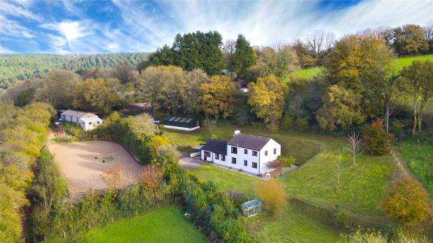 4 Bedrooms Detached House for sale in Latchley, Gunnislake, Cornwall