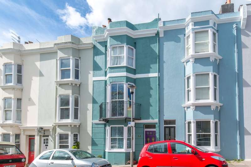 4 Bedrooms Terraced House for sale in Temple Street, Brighton, BN1 3BH