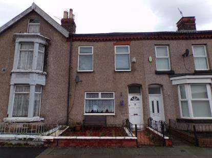 2 Bedrooms Terraced House for sale in Beaconsfield Terrace, St. Marys Road, Garston, Liverpool, L19