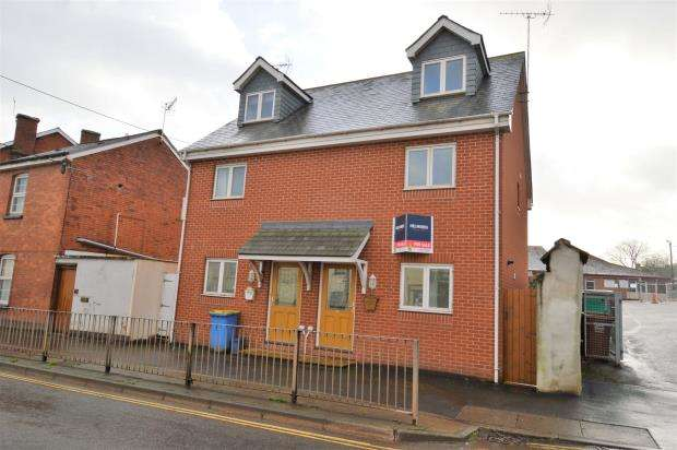 4 Bedrooms Semi Detached House for sale in East Street, Crediton, Devon