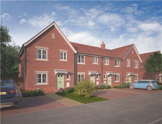 3 Bedrooms Terraced House for sale in The Avebury, Cotswold Grange, CHELTENHAM, GL51 3NB