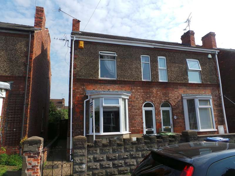 3 Bedrooms Semi Detached House for sale in Alfred Street, Gainsborough DN21