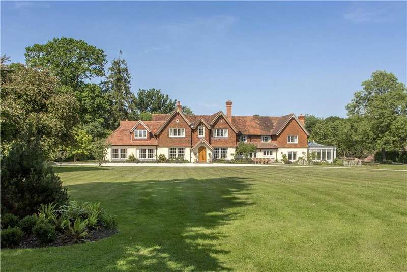 6 Bedrooms Detached House for sale in Ecchinswell, Newbury, West Berkshire, RG20