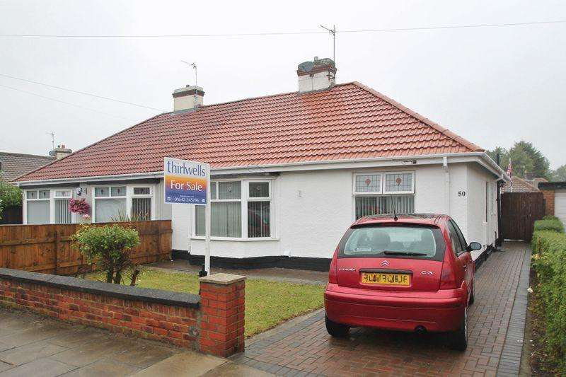 3 Bedrooms Semi Detached Bungalow for sale in Harrow Road, Linthorpe