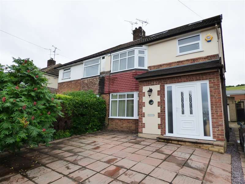 4 Bedrooms Semi Detached House for sale in Jeans Way, Dunstable