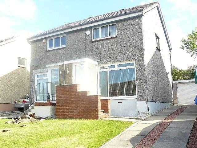 2 Bedrooms Semi Detached House for rent in Osprey Drive, Uddingston