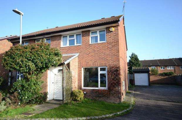 3 Bedrooms Semi Detached House for sale in Barkwith Close, Lower Earley, Reading