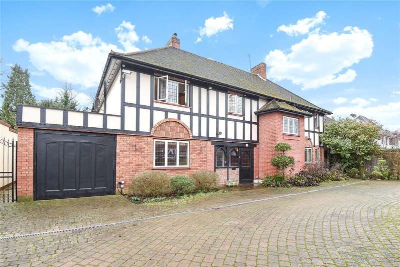 5 Bedrooms Detached House for sale in The Avenue, Hatch End, Pinner, Middlesex, HA5