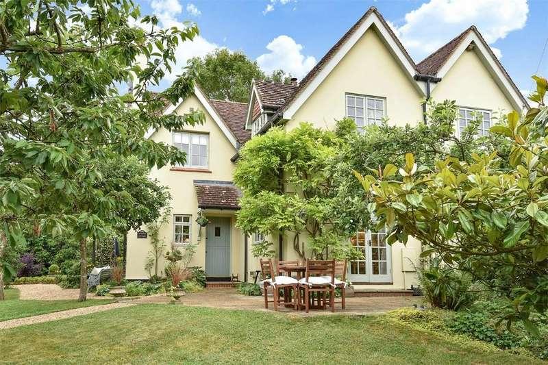 3 Bedrooms Semi Detached House for sale in Little Somborne, Stockbridge, Hampshire