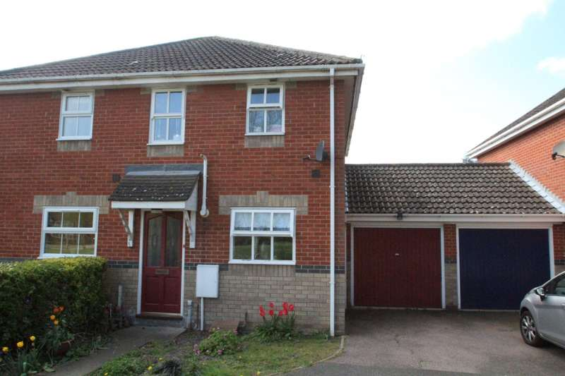 2 Bedrooms Semi Detached House for rent in Largent Grove, Kesgrave, Ipswich