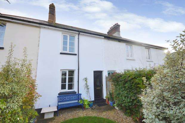 2 Bedrooms Terraced House for sale in Exe View, Exminster, Exeter, Devon