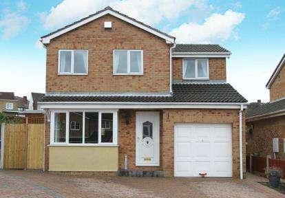 3 Bedrooms Detached House for sale in Tollbridge Road, Woodthorpe, Mastin Moor, Chesterfield