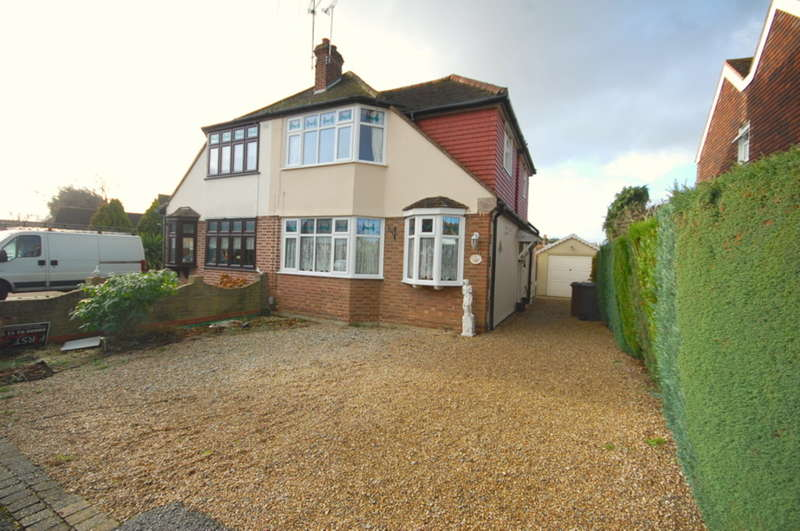 3 Bedrooms Semi Detached House for sale in Baddow Place Avenue, Great Baddow, Chelmsford, CM2