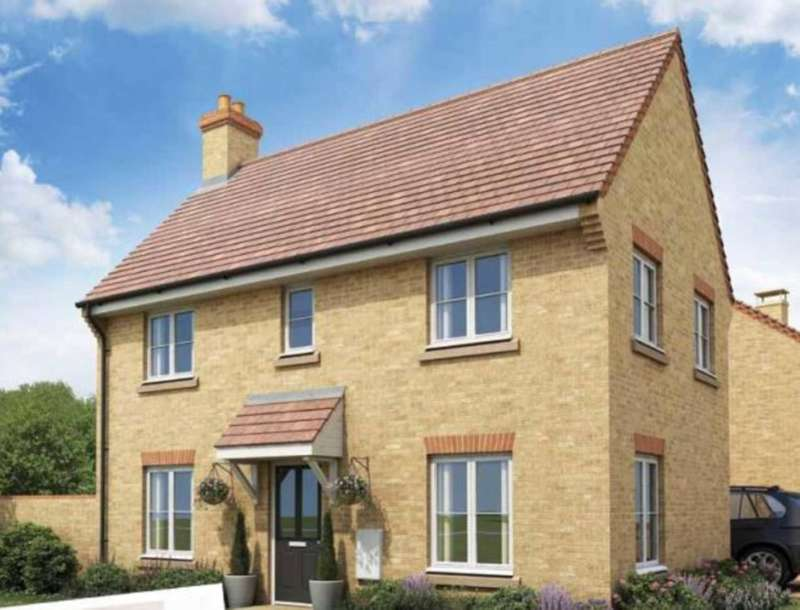 3 Bedrooms Detached House for sale in Saxon Fields, Biggleswade SG18 8UG