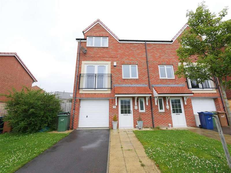5 Bedrooms Semi Detached House for sale in Carradale, Beckwith Green, Sunderland