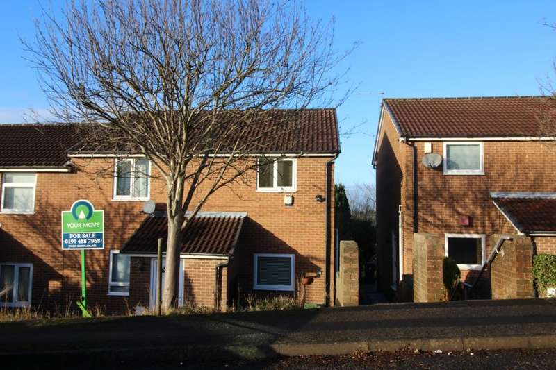 2 Bedrooms Flat for sale in Ravenscar Close, Whickham, Newcastle Upon Tyne, NE16