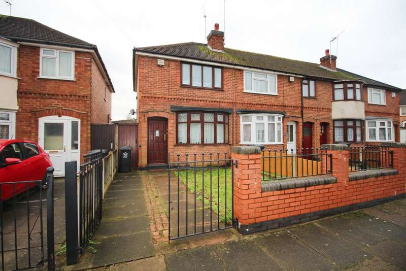 2 Bedrooms End Of Terrace House for sale in The Brianway, Evington, LE5