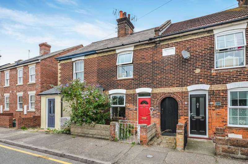 3 Bedrooms Terraced House for sale in Bergholt Road, Colchester, CO4 5AG
