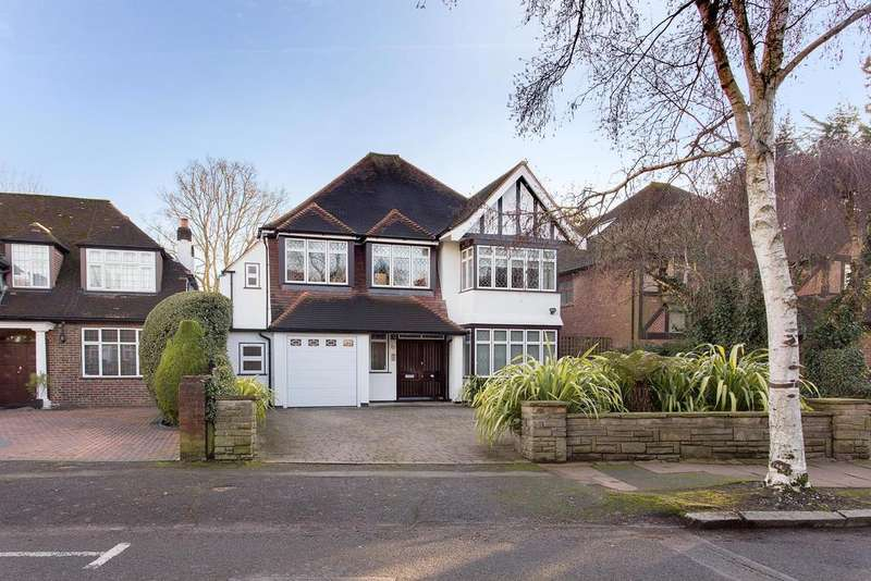 5 Bedrooms Detached House for sale in Lake View, Edgware, Middlesex HA8 7RU
