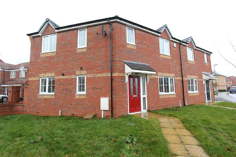 3 Bedrooms Semi Detached House for sale in 49, Whysall Road, Long Eaton, Nottingham, Nottinghamshire, NG10 3QZ