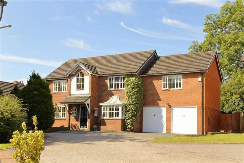 4 Bedrooms Detached House for sale in Park Issa Gardens, Whittington, SY11
