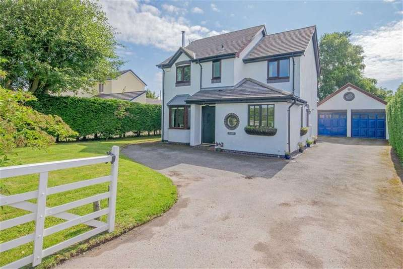 4 Bedrooms Detached House for sale in Brynsannan, Brynsannan, Brynford, Holywell