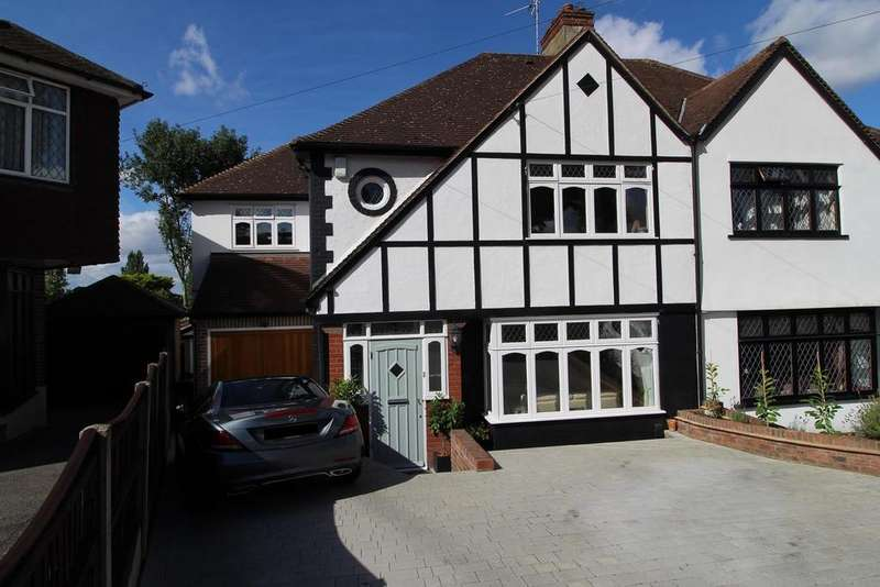 4 Bedrooms Semi Detached House for sale in Spenser Crescent, Upminster, Essex, RM14