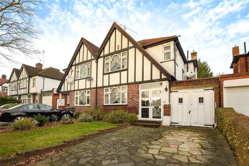 3 Bedrooms Semi Detached House for sale in Uxbridge Road, Hatch End, Middlesex, HA5