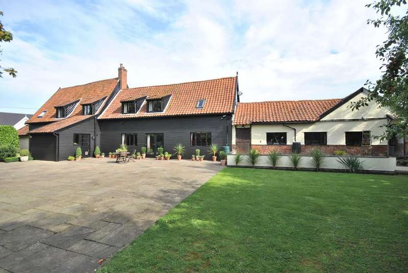 5 Bedrooms Barn Conversion Character Property for sale in Chapel Lane, Botesdale, Suffolk