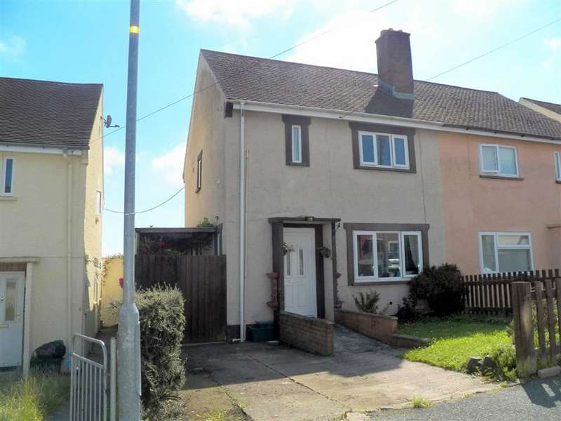 3 Bedrooms Semi Detached House for sale in Foley Way, Haverfordwest