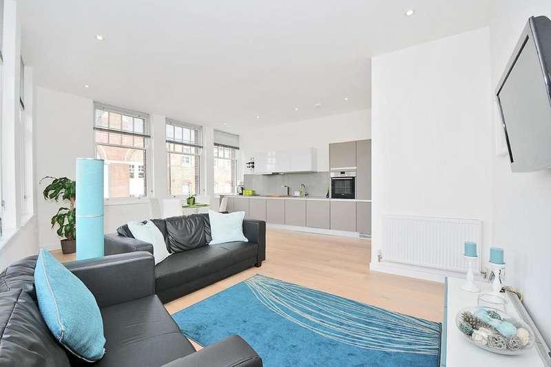3 Bedrooms Flat for sale in Warple Way, Acton