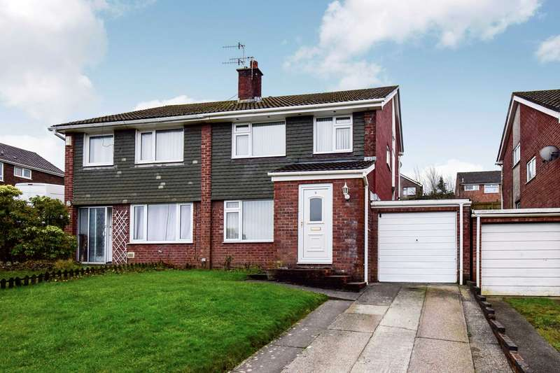 3 Bedrooms Semi Detached House for sale in Lon-Y-Garwa, Caerphilly, CF83