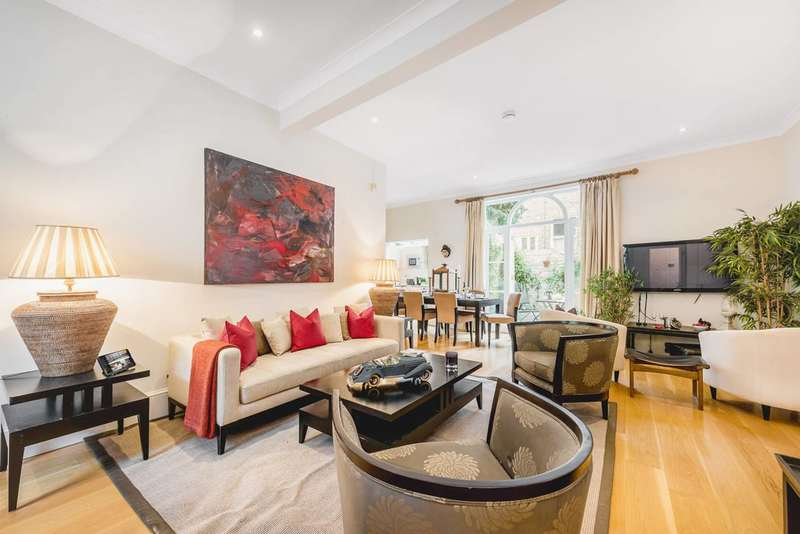 5 Bedrooms Mews House for rent in Spear Mews, Earls Court, SW5