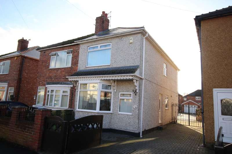 3 Bedrooms Semi Detached House for sale in Claremont Road, Darlington, DL1