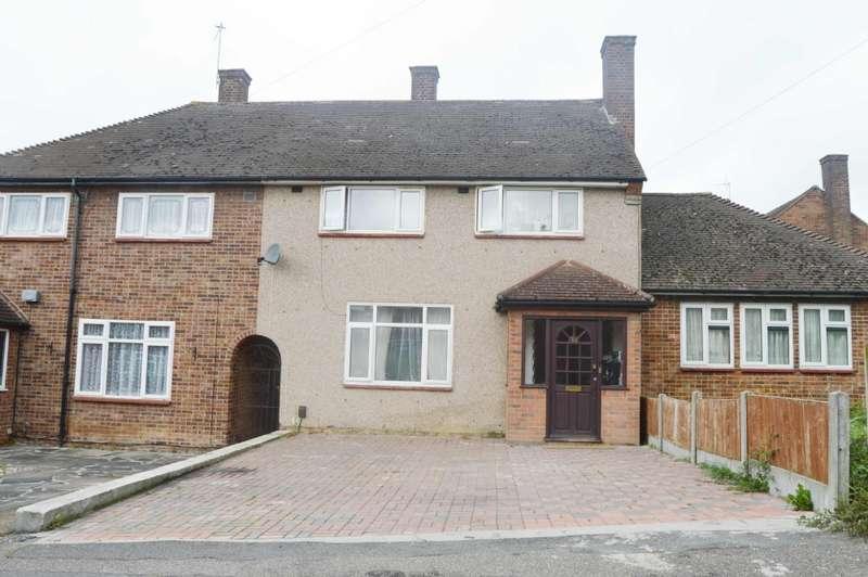 3 Bedrooms Terraced House for sale in Aylsham Lane, Harold Hill