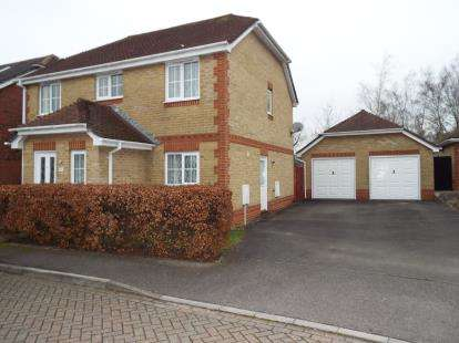 4 Bedrooms Detached House for sale in Fair Oak, Eastleigh, Hampshire