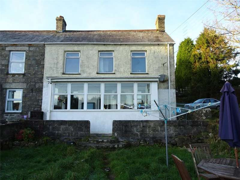 3 Bedrooms End Of Terrace House for sale in Sea View Terrace, Penwithick, St Austell