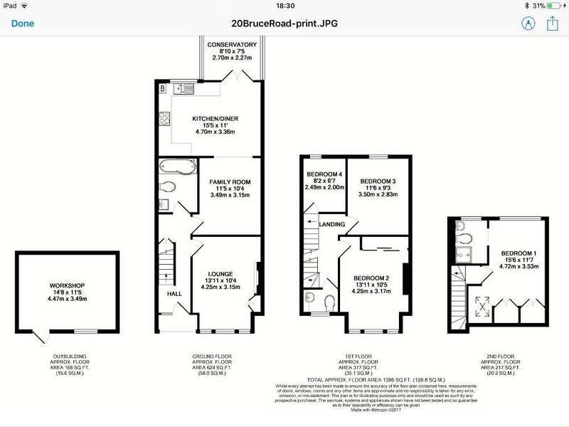 4 Bedrooms End Of Terrace House for sale in Bruce Road , Wealdstone , Harrow , England , Ha3 5dz
