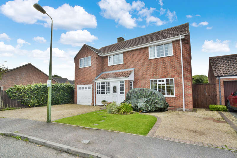 5 Bedrooms Detached House for sale in Sancroft Way, Fressingfield