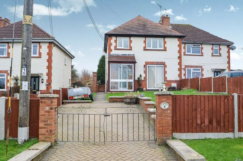 3 Bedrooms Semi Detached House for sale in Coronation Cottages, Princethorpe, Rugby