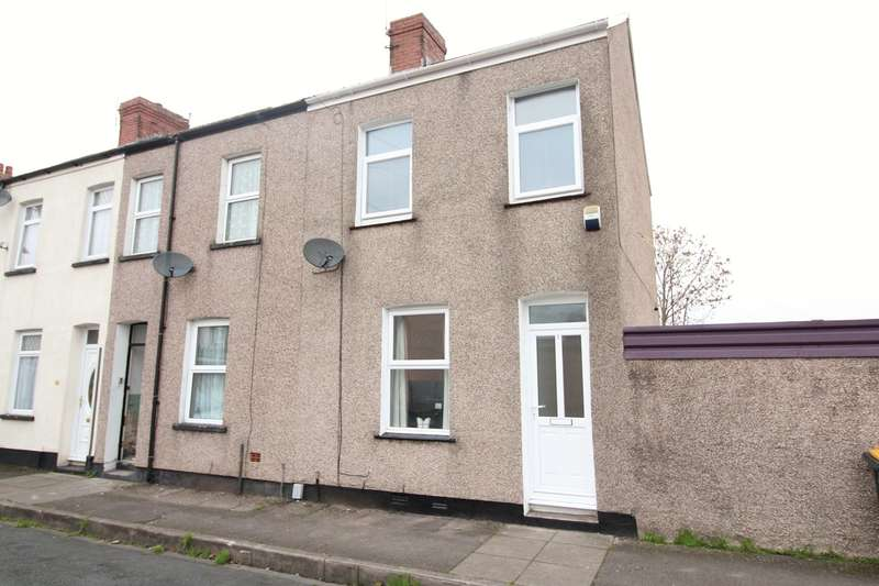 2 Bedrooms End Of Terrace House for sale in Ifton Street, Newport, NP19