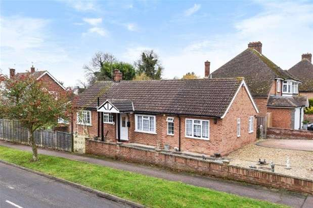 4 Bedrooms Detached Bungalow for sale in Grange Lane, Bromham