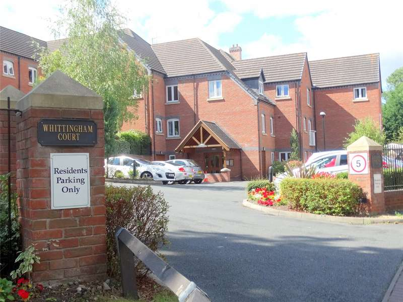 2 Bedrooms Flat for sale in Whittingham Court Droitwich Worcestershire WR9